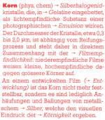 beispiele/29667/korn-vs-koernigkeit-beschreibung-aus-photographische KORN vs. Körnigkeit: Beschreibung aus 'Photographische Enzyklopädie' Urs Tillmanns, 1982. ISBN 3-7231-1700-7