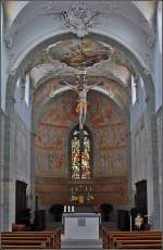 was-meint-ihr-dazu/51994/die-dritte-im-bunde-st-peter Die dritte im Bunde: St. Peter und Paul in Niederzell. Auch hier eine wunderbare Grundsubstanz, wie man an der Chorapsis erkennt. Leider wurde die Kirche während des Barock kräftig modern verunstaltet.